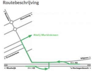 route beschrijving Marienkroon